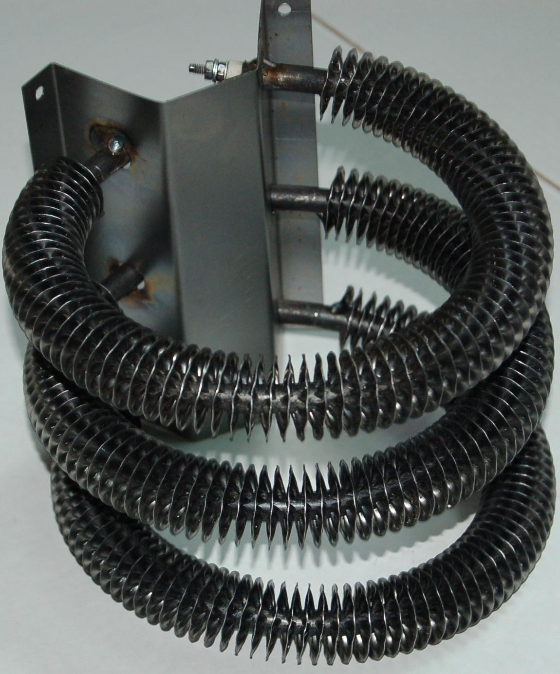 Как сделать тепловентилятор из спирали